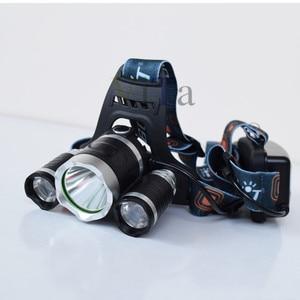 Image 4 - 3 LEDไฟหน้า8000LM XM L T6 UV LEDไฟหน้า395nmอัลตราไวโอเลตแบบชาร์จโคมไฟหัวl ampeฟรอนตาเล่18650ชาร์จแบตเตอรี่