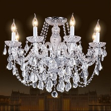 Crystal chandelier lighting Living Room Cristal Lamp Home Lighting Fixture Large Modern Crystal chandeliers Lustres de cristal недорго, оригинальная цена