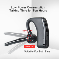 5r uv Bluetooth אלחוטי Talkie Walkie PTT אוזניות באפרכסת KENWOOD מיקרופון אוזניות מתאם Baofeng UV-5R UV-82 אוזניות (4)