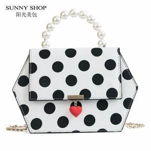 SUNNY SHOP Bag For Women 2018 Mini Chain Handbag Purse 014b00292c