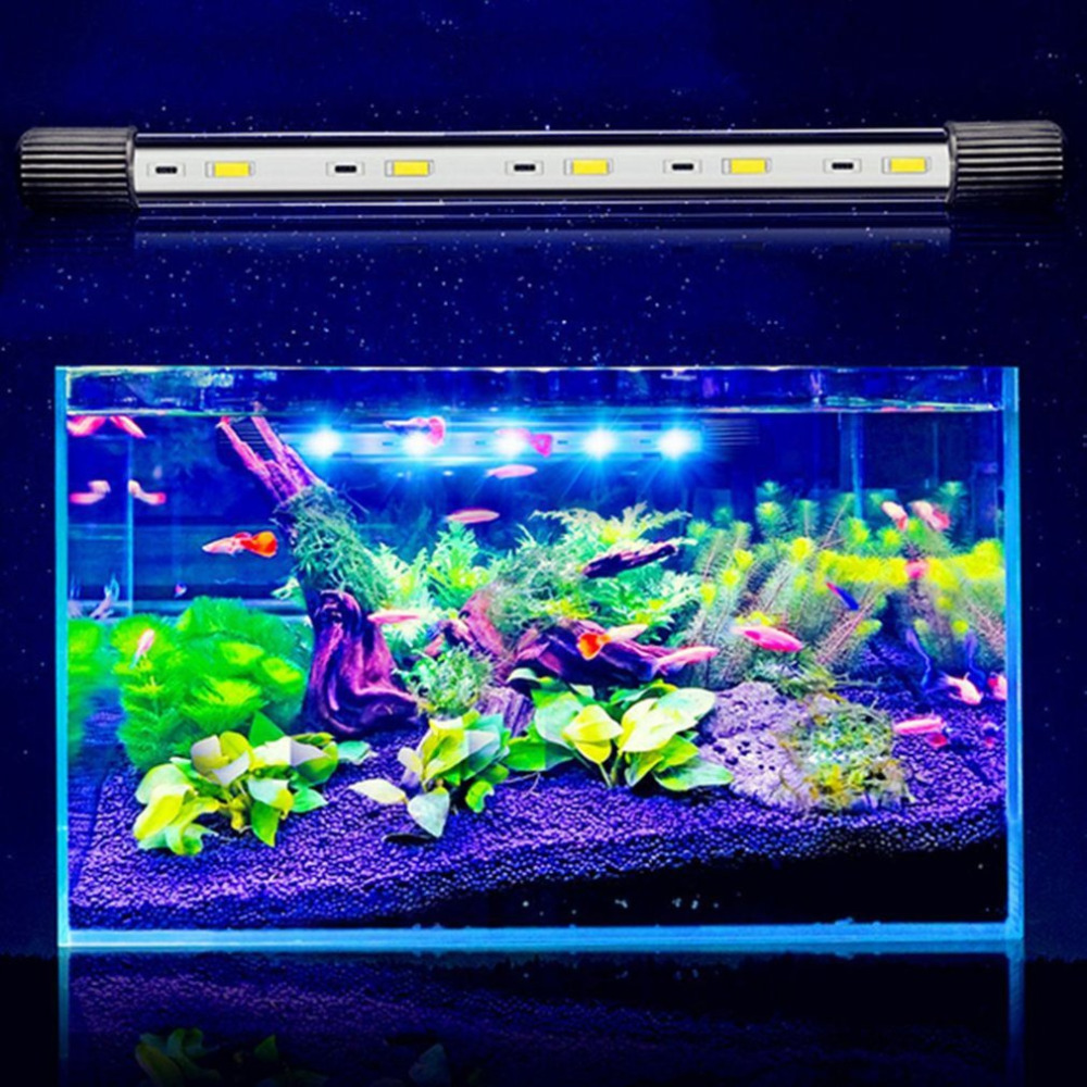 4 Modellen12 Aquarium Fish Tank LED Light Amphibious Use 5730 High Bright LED Light Submersible Waterproof Lamp with Suction Cup