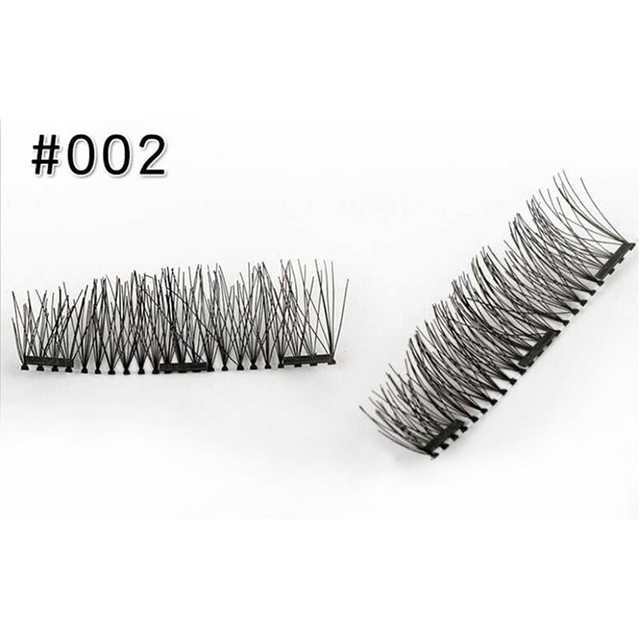 3 Magnet 3D Magnetic Eyelashes Magnet Lashes 2