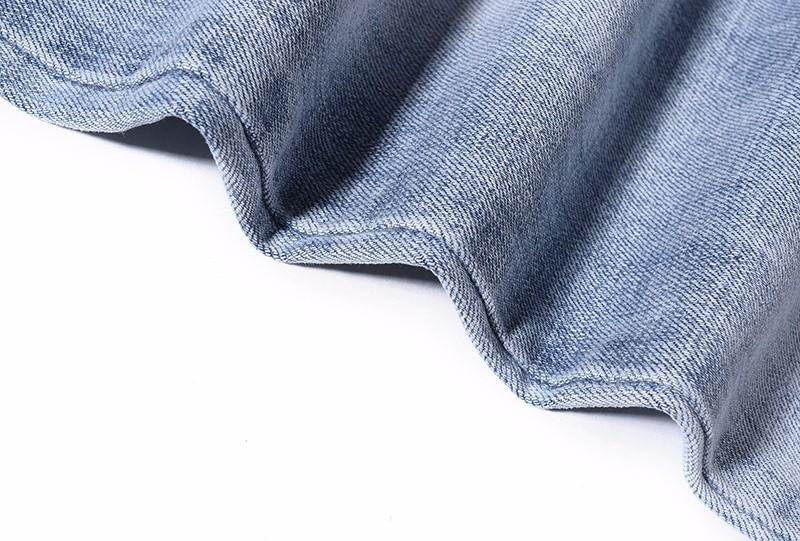 Скидки на 2016 Новая Мода Уличная Повседневная Патчи Жан Брюки Moto Rockstar Rock City Синий 424 Дизайнер Кислоты Мыть Мужские Узкие Джинсы