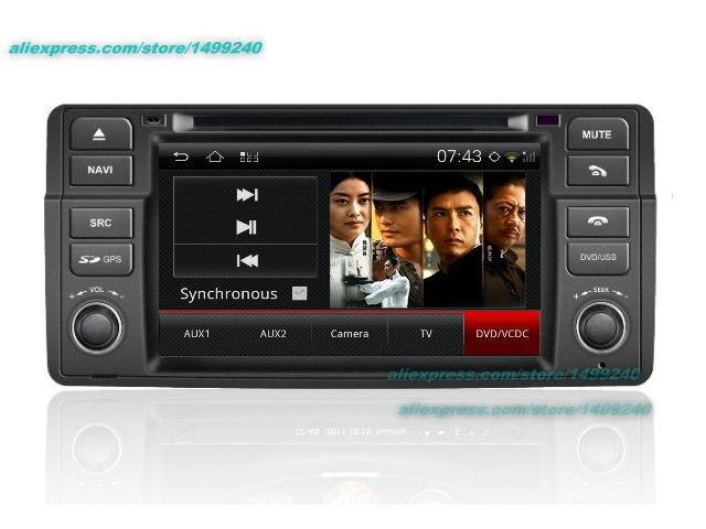 Pour BMW 3 E46 1998 ~ 2006-voiture Android GPS Navigation Radio TV lecteur DVD Audio vidéo stéréo système multimédia