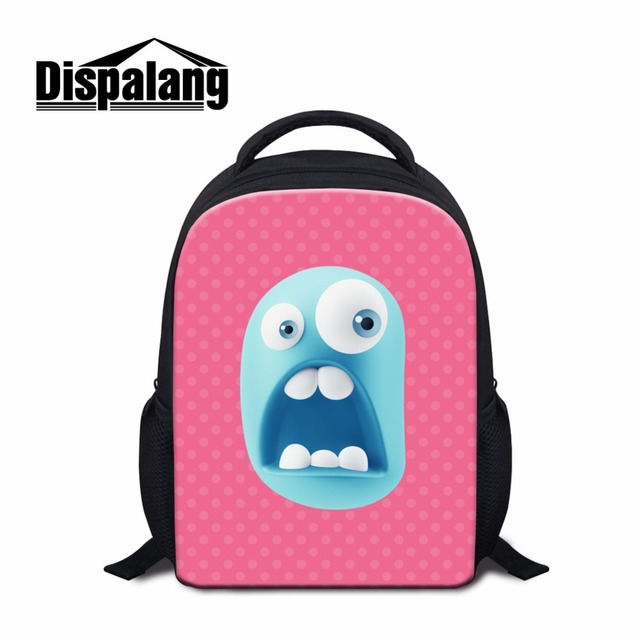 Dispalang Funny Face Kids Small School Bags Cute S Mini Size Backpack Multi Color Toddler