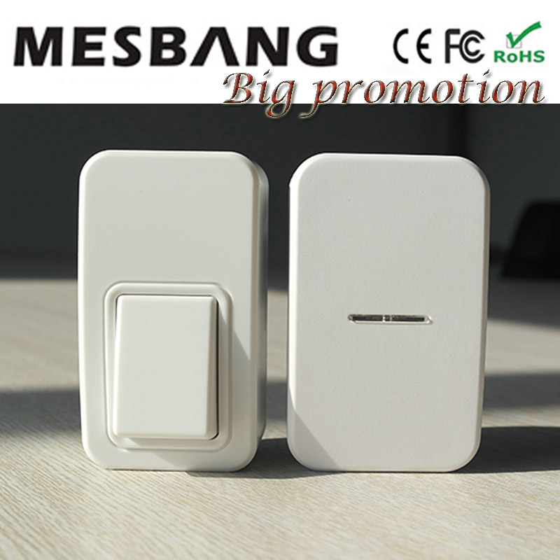 New hot small wireless Doorbell Door bell for home house department no need battery and cable to install Free Shipping department 56 colonial williamsburg village lit house taliaferro cole house