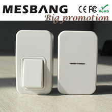 New hot small wireless Doorbell Door bell for home house department no need battery and cable to install Free Shipping