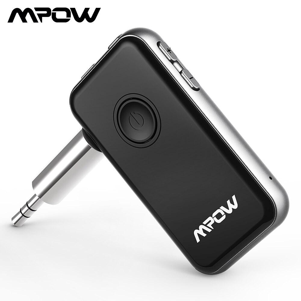 Mpow BH045 2-em-1 Transmitter & Receiver Adaptador Para Fones De Ouvido Sem Fio Bluetooth 4.1 Speaker Computador TV Carro sistema de aparelhos de som