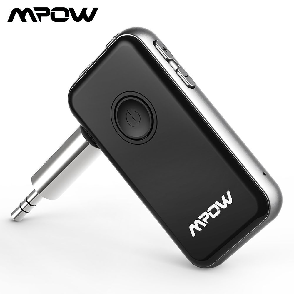 Mpow BH045 2-in-1 Bluetooth 4.1 Transmitter & Receiver Wireless Adapter For Headphones Speaker TV Computer Car Stereos System
