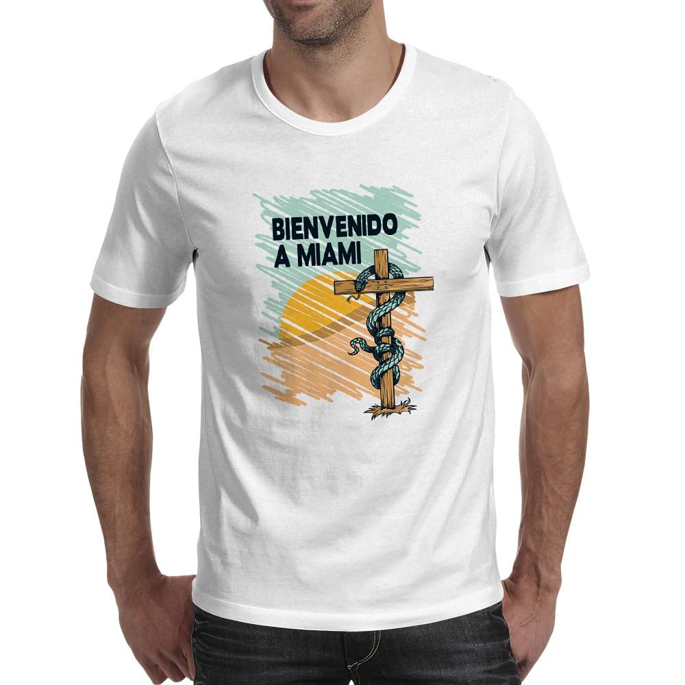 Design your own t-shirt miami - Bienvenido A Miami T Shirt Design Cross Desert Sna