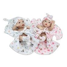 27CM Silicone Reborn Baby Dolls Accompany Sleeping Reborn Dolls Alive Soft Vinyl Baby Born Toys For