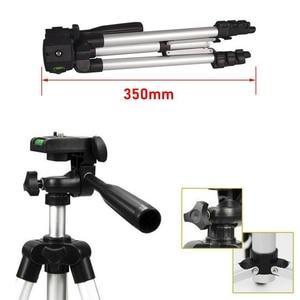 Image 2 - Mini soporte de trípode para cámara 3110, trípode telescópico profesional de aluminio, monopié para iPhone, Samsung, cámara de acción para teléfono inteligente