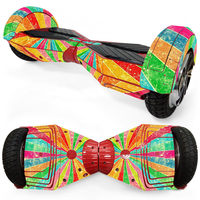 New Arrival 8 Inch 2 Wheel Self Balancing Electric Scooter Protective Vinyl Skin Decal Replacement Hoverboard