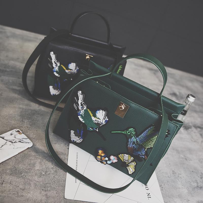 2017 Latest Famous Shoulder Bag Vintage Bag High Quality Women Messenger Bags Lu