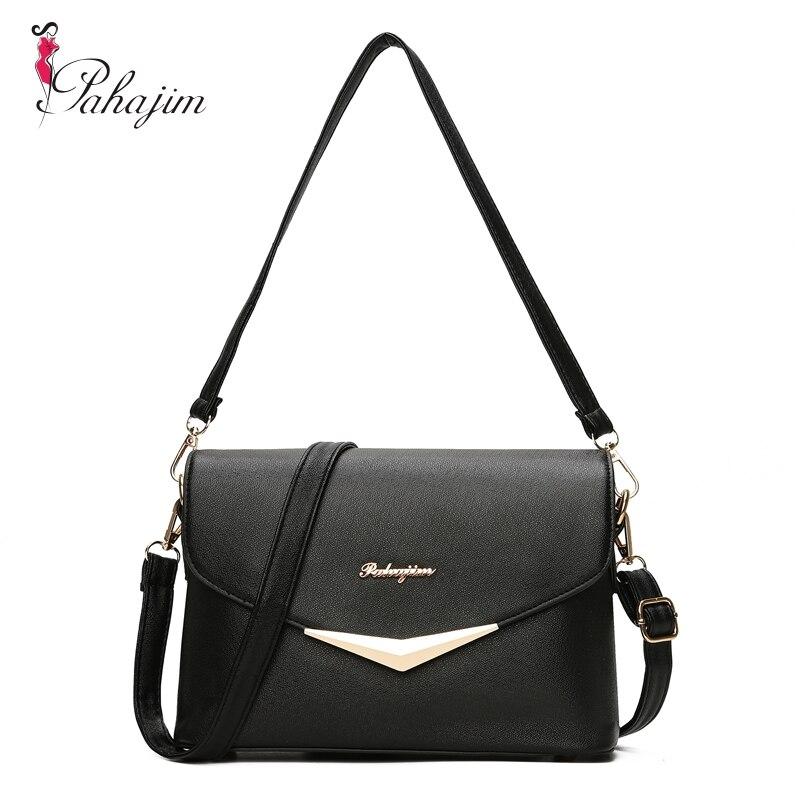 58643265503d Pahajim Fashion Women Bag Fresh Ladies Handbags Casual Crossbody PU  Messenger Bags Teenagers College Sac