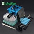 Синий BGA набор 90*90 мм BGA станция реболлинга с ручным хвостовиком подарок 10/шт Универсальные трафареты BGA