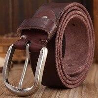 2016 New Arrival Hot Designer Belt Men High Quality Full Grain 100 Real Genuine Leather Mens