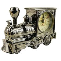 Free Shipping Antique Alarm Clock Fashion Home Cartoon Locomotive Train Alarm Clock Student Gift Bedside Alarm