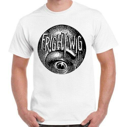 T-shirts Frightwig American Feminist Punk Music Group Rock Eye Top Retro T Shirt 87 The Hottest T Shirt In The World Good For Antipyretic And Throat Soother