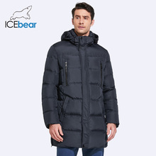 ICEbear 2018 Casual Men Winter Coat Warm Jacket Medium Long Thickening Windproof Coat  For Male B16M899D