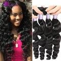 Hot Malaysian Loose Wave Virgin Hair 3 Bundle Deals ALLove Hair Products Human Hair Soft Loose Wave Malaysian Hair Weave Bundles