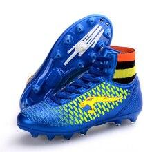 Мужские высокие ботинки для регби, сетчатые дышащие ботинки для футбола, женские кроссовки с длинными ногтями, подростковые кроссовки для соревнований по регби, D0615