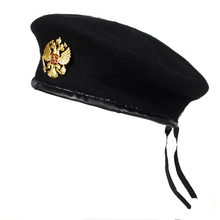 Winter Wool Knitted russian Army Men Beret Hat Special Force