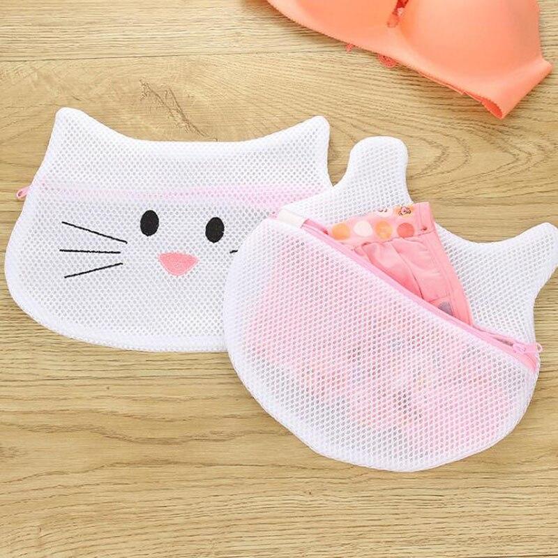 Cartoon Animal Laundry Bags Anti-deformation Bra Underwear Socks Wash Bag For Washing Machine Zipper Mesh Bags ZA6595