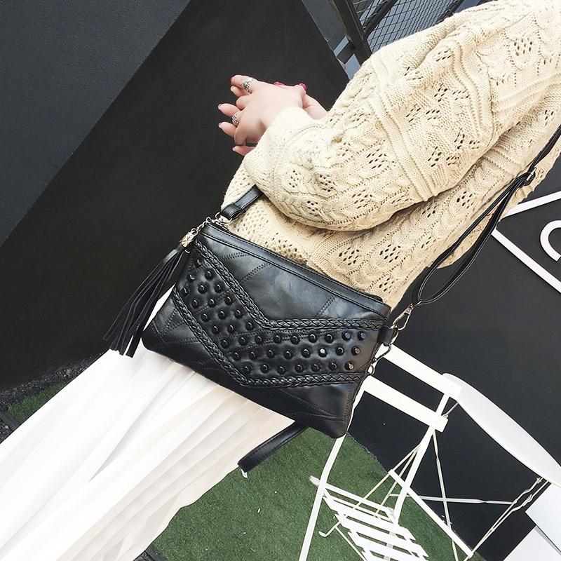 mulheres franjas bolsas genuína mulheres Marca : Aliwood