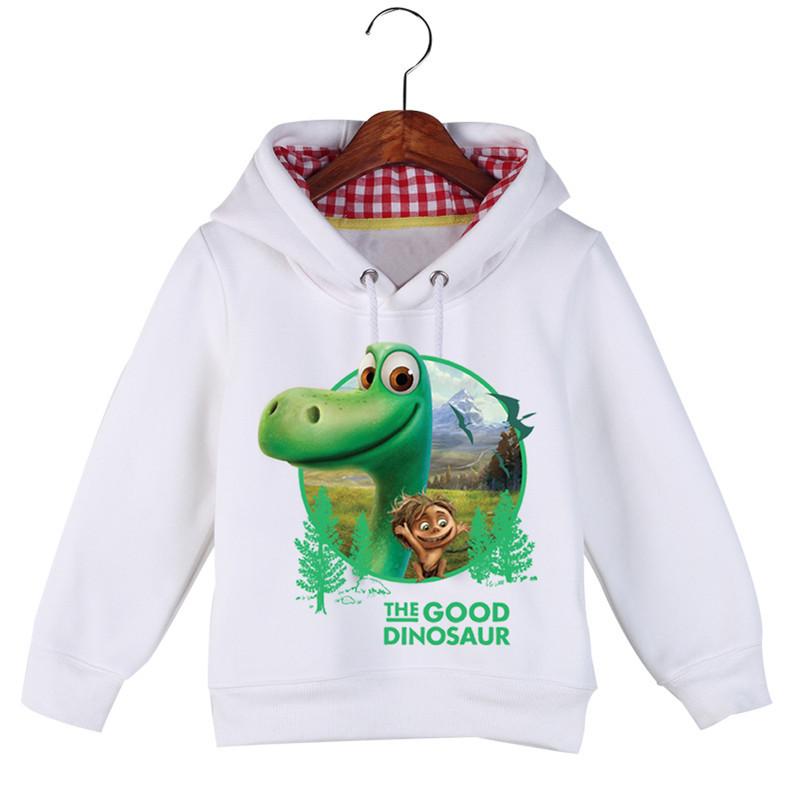 Jiuhehall High Quality Children\'s The Good Dinosaur Hoodies & Sweatshirts Autumn Winter Plus Velvet Boys Girls Hoodie GCM016 (5)
