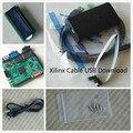 Xilinx Платформа Кабель USB + LCD1602 + xilinx xc6slx9-tqg144 xilinx fpga развития борту xilinx spartan-6 совет комплект