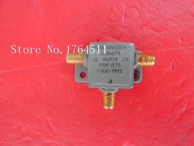[BELLA] The Supply Of EMCO RF Power Divider Into Two PSK-B75 1-100MHz SMA