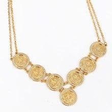 Турецкие монеты, арабские монеты, кристалл, ислам, мусульманский стиль, 55 см, ожерелье, турки, Африка, вечеринка, ювелирное изделие