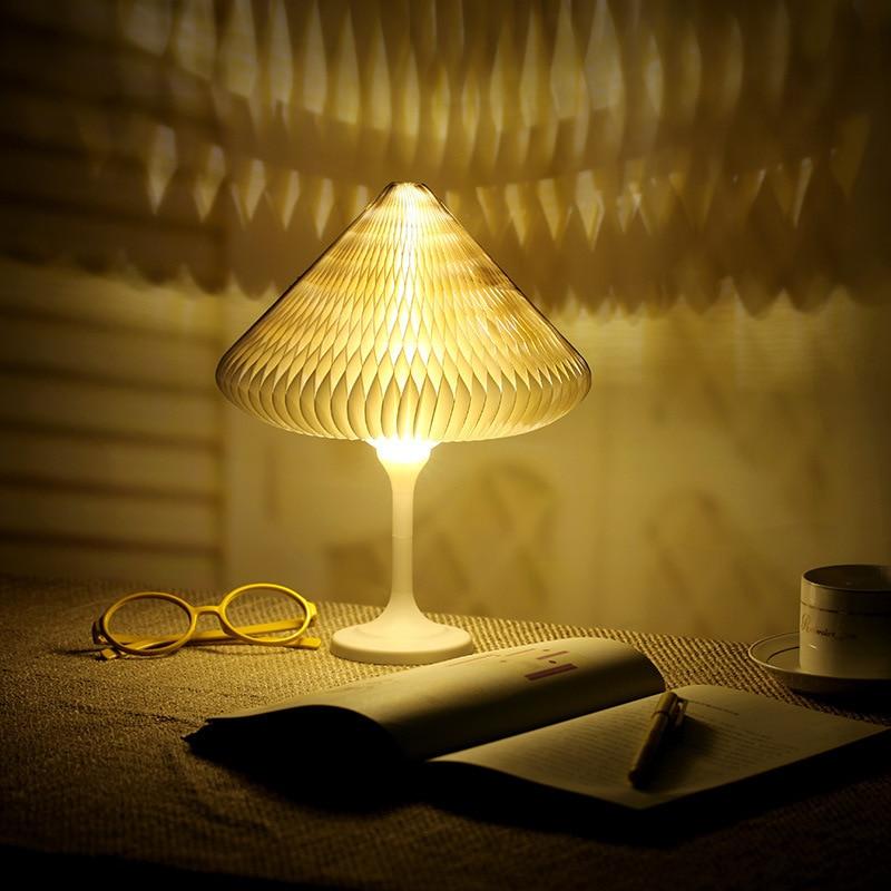 Nouveauté bricolage Led veilleuse USB Rechargeable coloré livre lampe intelligente tactile table lumières pour bébé enfants chambre décor