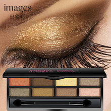 image 8 Color Eye Shadow Pearl Palette Glamorous Smokey Shimmer Colors Makeup Kit by Focallure