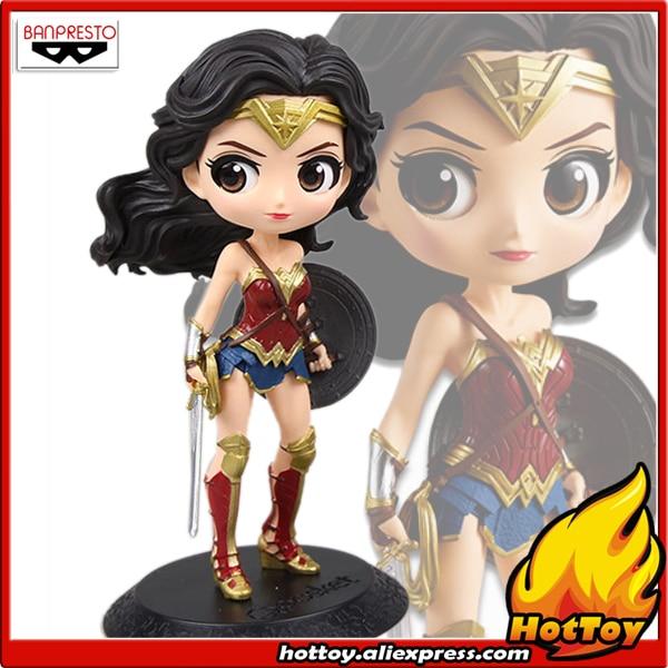 100% Original Banpresto Q Posket Collection Figure Wonder Woman from Justice League