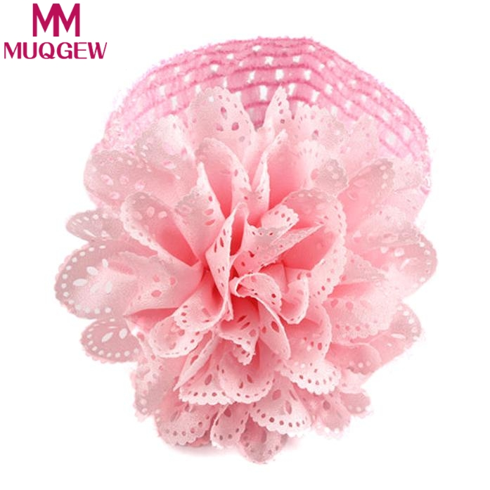 Baby Kids Girls Lace Flower Hairband Headband Dress Up Head Band Children Hollow Flower Hair Band