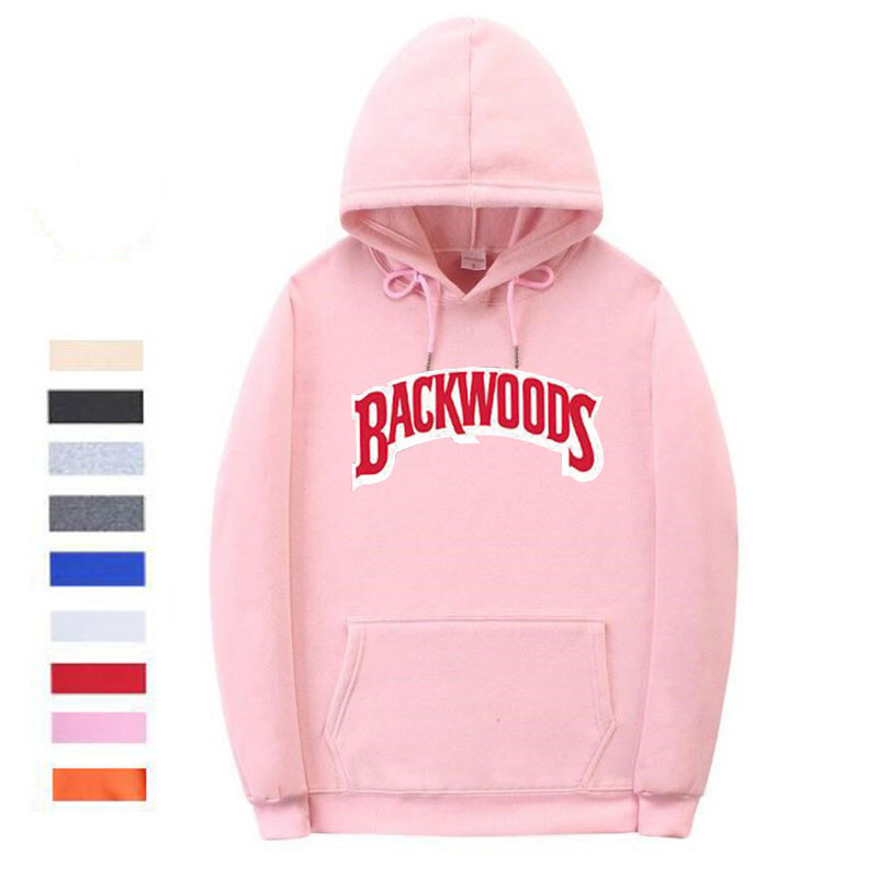 The screw thread cuff Backwoods Hoodie 4