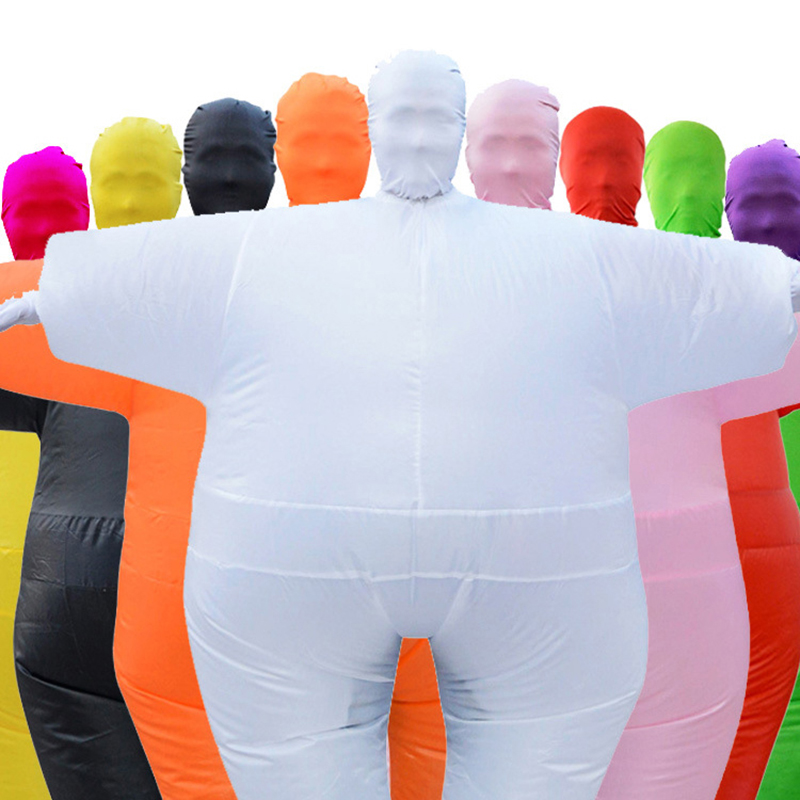 Adult Anime Cosplay Chub Inflatable Costume Blow Up Color Full Body Costume Jumpsuit 9 Colors halloween Costumes For Women