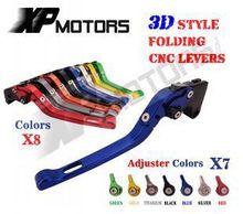 CNC 3D Складные Сцепные Рычаги Тормоза Для Yamaha YZF R6S КАНАДА Версия 2007 2008 2009