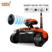 Global font b Drone b font Smart RC Tank Wifi FPV Camera App Control Voiture Telecommande
