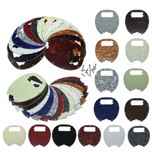 цены KAISH  Bass Pickguard MusicMan Stingray MM4 Scratch plate for  Music Man MM2 4 String Guitar Parts Various Colors