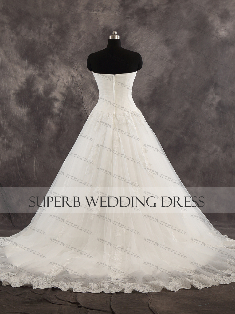 High Quality Wedding Dress Sweetheart Neckline Bridal Gown Dresses For Bride Superbweddingdress in Wedding Dresses from Weddings Events
