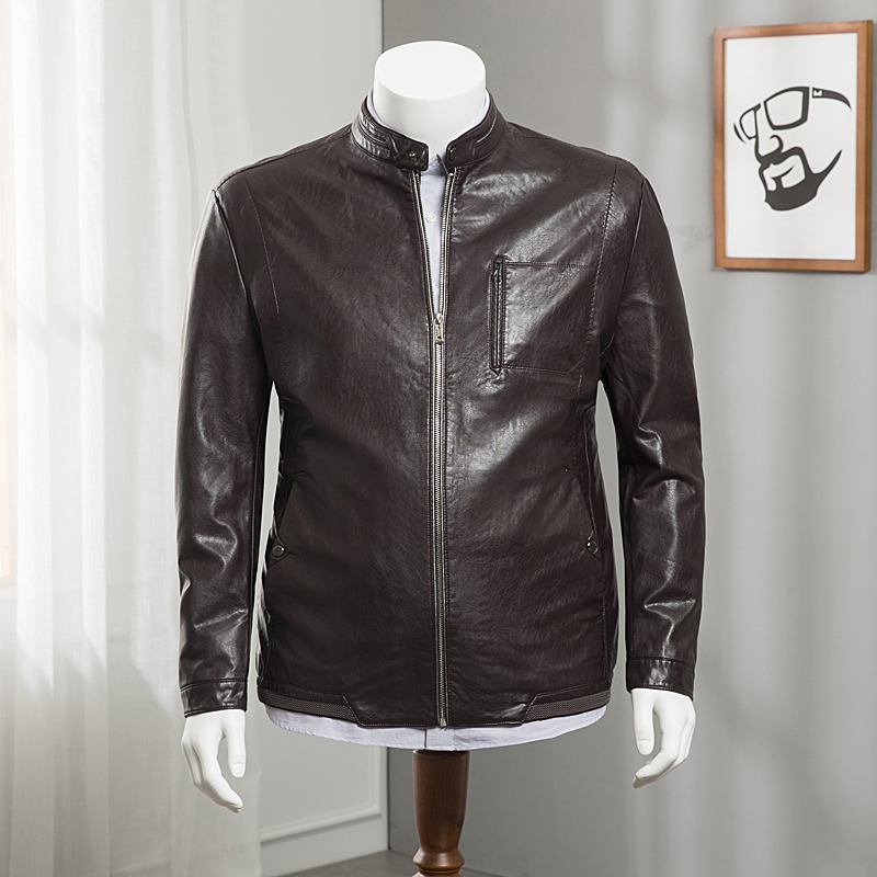 D'âge Outwear La En Xxl Printemps Manteau Nouvelle Veste Et Hommes Plus Taille Arrivée 1 Cuir Manteaux Automne 7xl 2 Vestes Moyen Pu 3 De j354qRLcAS