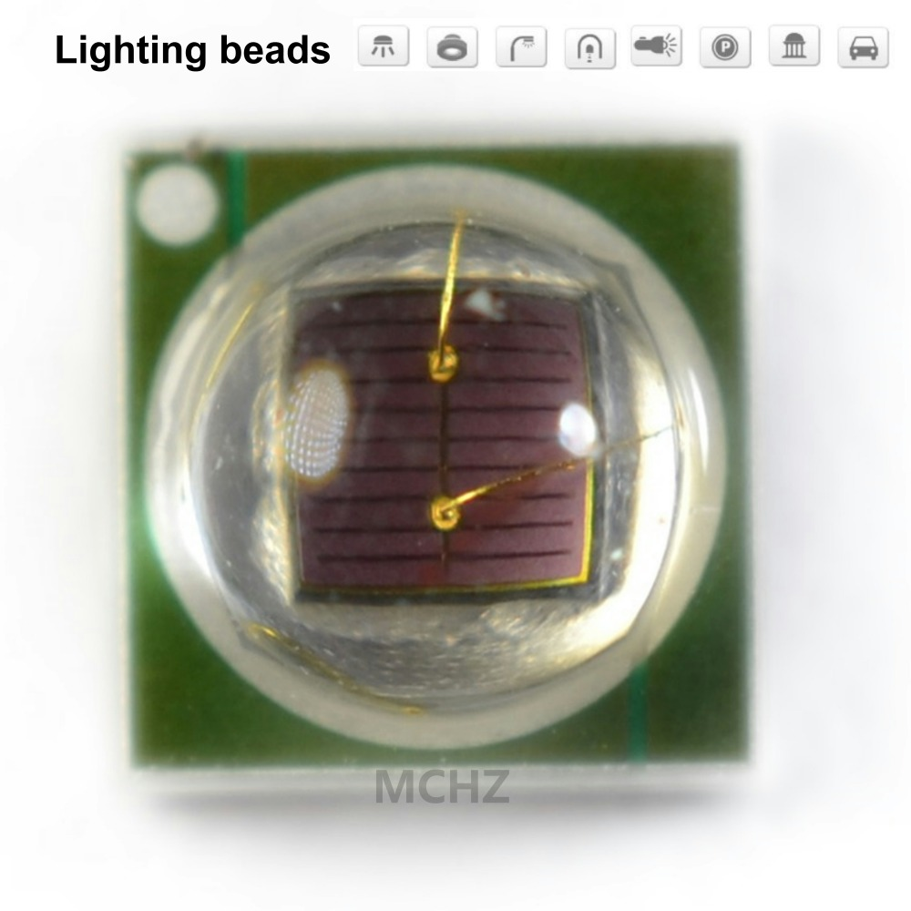 30 pièces HONGLI Remplacer CREE LG 3535 2W rouge 650-655nm lampe de croissance de Plante de perles