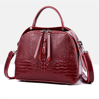 Fashion Alligator Women's Genuine Leather Handbags Small Ladies Tote Bag Shoulder Bags For Women Messenger Bags