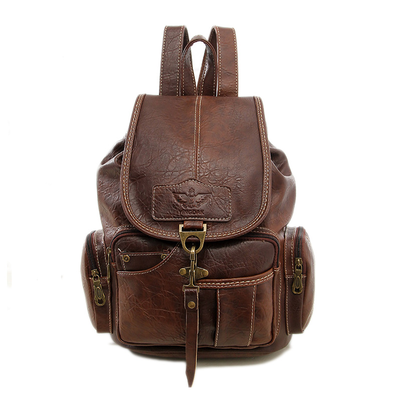 Online Get Cheap Vintage Leather Backpacks -Aliexpress.com ...