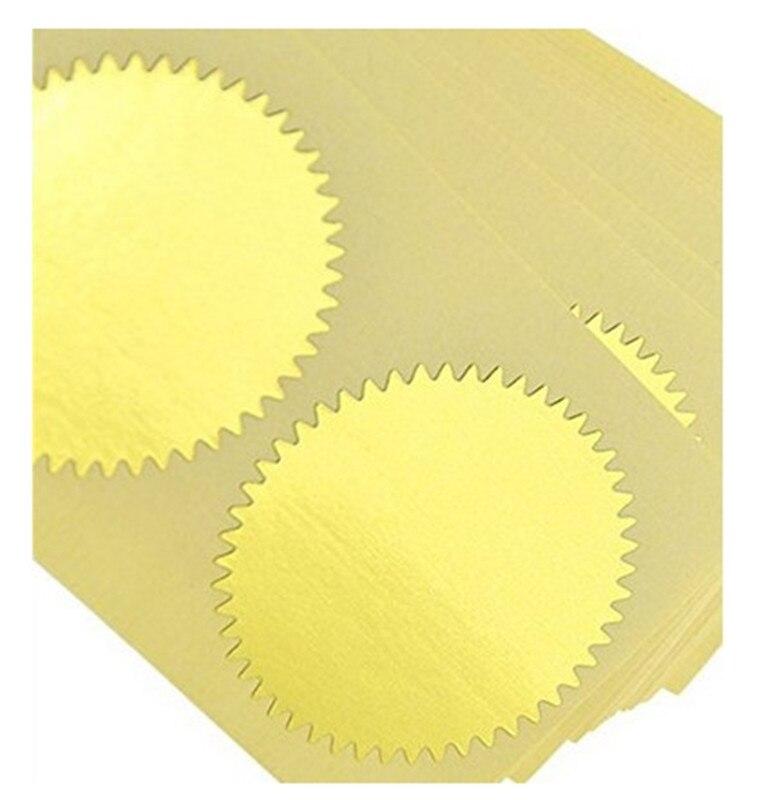 100pcs Zlato Vintage Embosser Pečat Pečat Prazan Certifikat - Umjetnost, obrt i šivanje - Foto 5