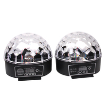 DMX512 RGB LED Plastic Bar DJ Party Stage Pattern Lighting Crystal Magic Diamond Ball Christmas Laser Projector Light UK FULI