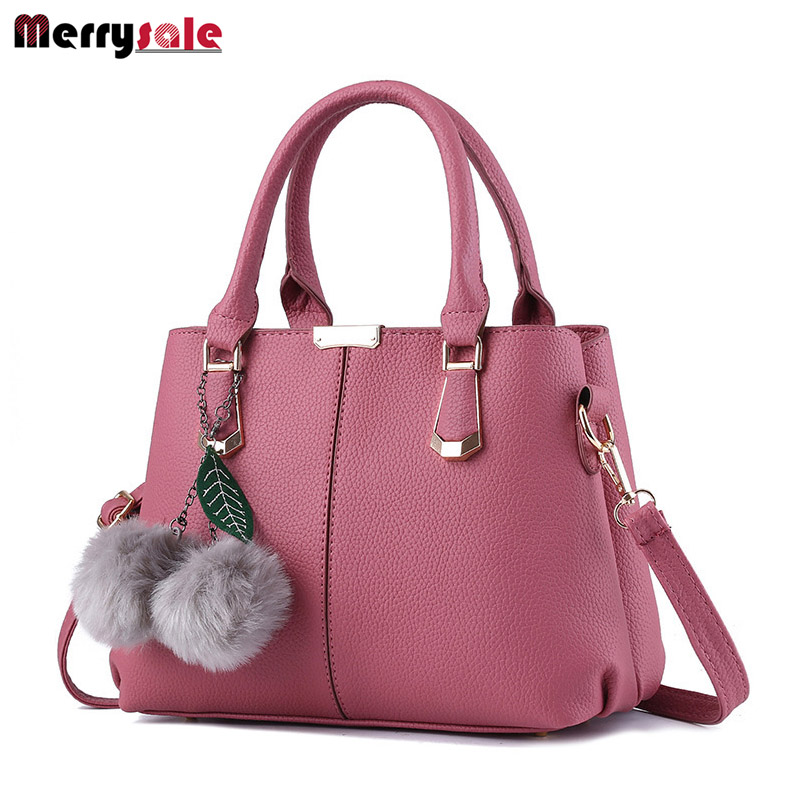 Women bag 2017 new bag women leather handbags female sweet lady fashion handbag